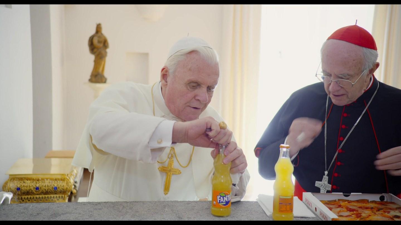 Risultato immagini per i due papi locandina