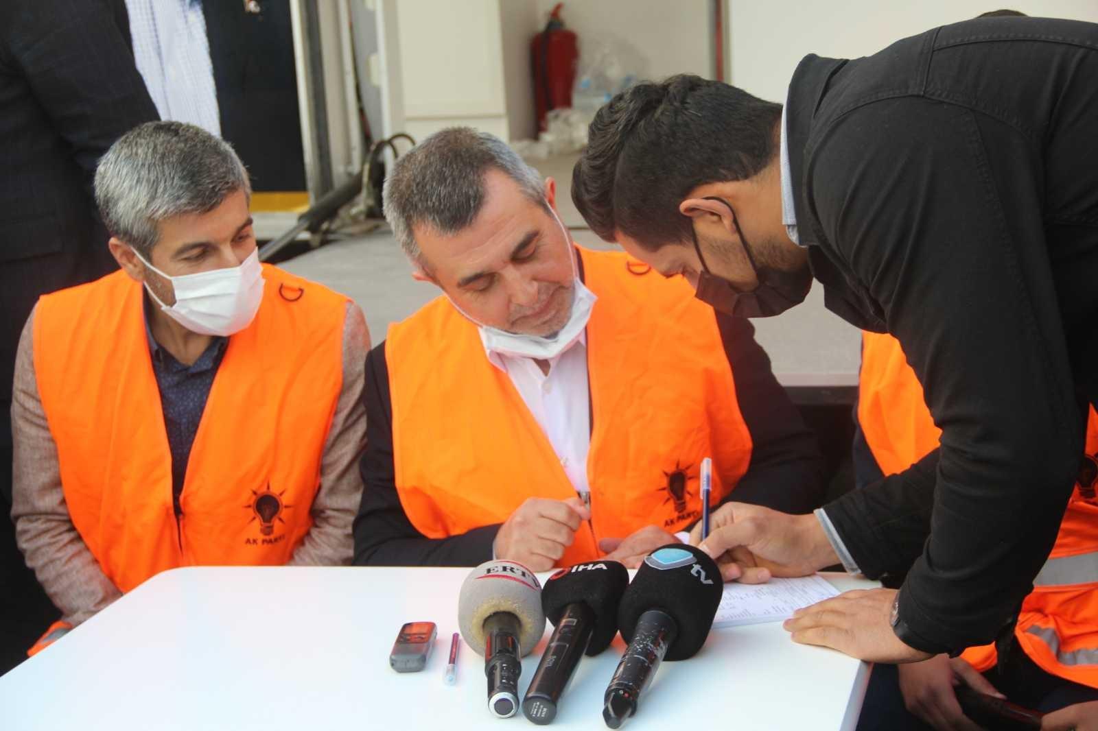 AK Parti'den Malatya'da üye seferberliği