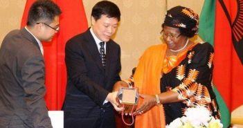 Joyce Banda China