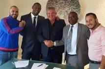 Nyasa Manufacturers and FAM officials with Bullets signing the deal