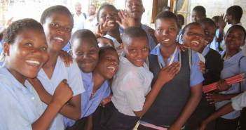 Malawi secondary school Students
