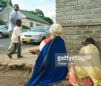 Beggars in Malawi