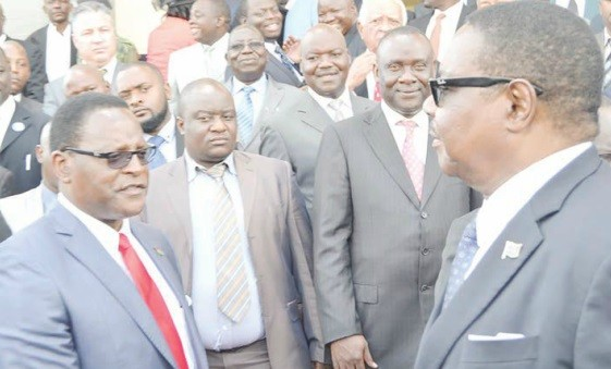 Lazarus Chakwera and Peter Mutharika