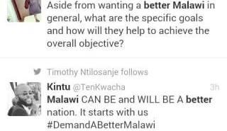 Demand better Malawi Twitter
