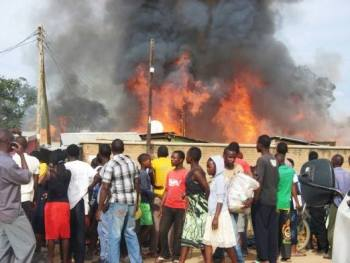 Mzimba Market Fire