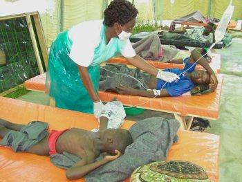 Malawi cholera.