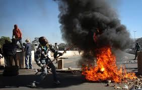 RSA Protests.