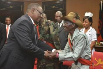 Malawi war veterans