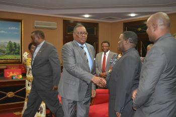 Peter Mutharika, CCAP officials