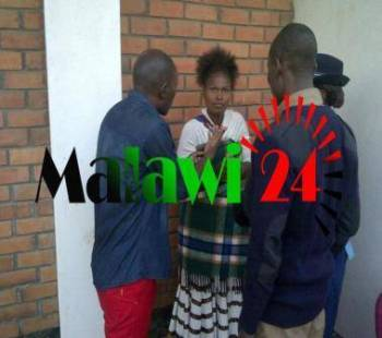 Woman caught stealing at a wedding.