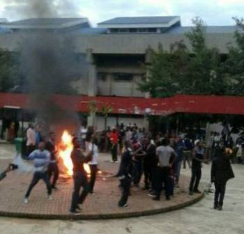 Malawi Students arrested for protesting