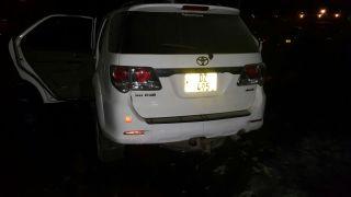 Jessie Kabwila vehicle up in flames (4)