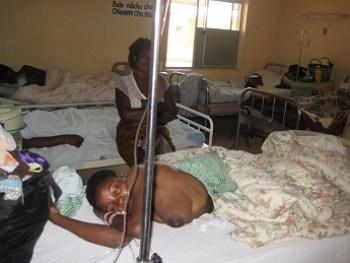 Women affected by fistula. (File)