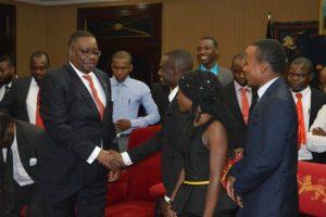 President-Peter-Mutharika-meets-University of Malawi-Students