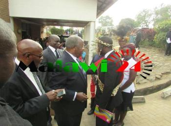 Justice Maxon Mbendera Funeral