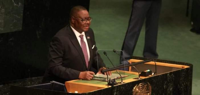 Peter Mutharika- UN