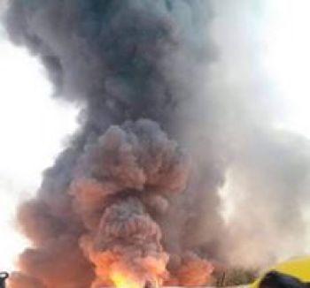 Lilongwe market fire.