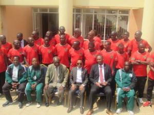 CAF A Coaching License course