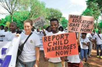 Malawi Media march