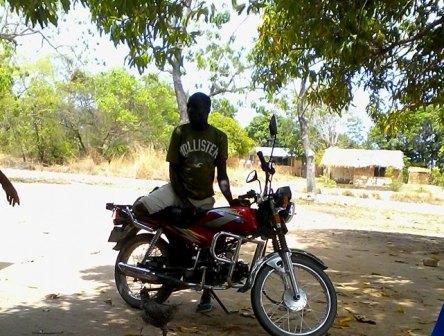 Motorbike operator