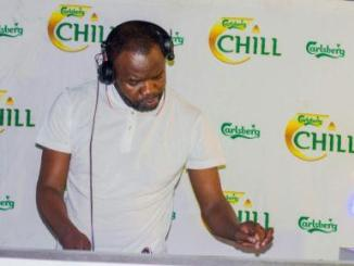South Africa's DJ Ganyani at Chill White Party in Lilongwe