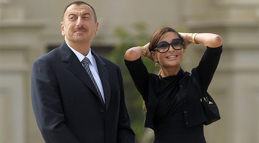 Azerbaijani president appoints his wife as First VP