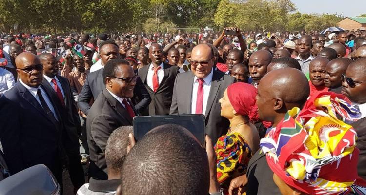 Lazarus Chakwera Sidik Mia MCP