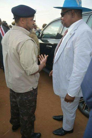 Peter Mutharika Saulos Chilima