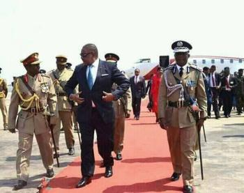 Malawi Army Parade