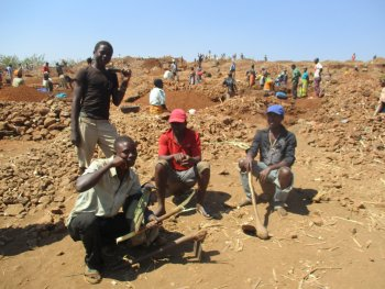 Malawi Gold mining