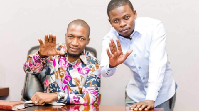 Prophet Uebert Angel and Prophet Bushiri