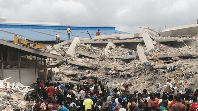 Shocking truth behind the collapse of TB Joshua's SCOAN building revealed |  Malawi 24 - Malawi news