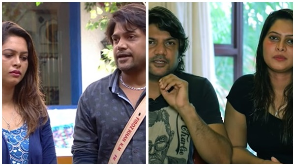 bigg boss malayalam season 3: social media reaction about sajna firoz's face after majziya's live |  Fans asked Sajjana's face if Feroz had beaten her.