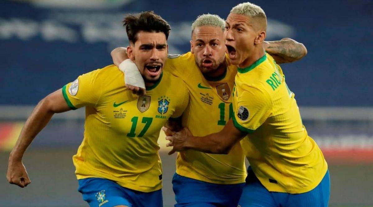 Brazil vs Chile Copa America 2021 result score