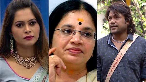 Bigg Boss malayalam season 3: Bhagyalakshmi will not pick up phone if I call, poli firoz Opens Up |  Bhagyalakshmi Chechi will not pick up the phone when I call: Talked to Sajna: Polly Feroz