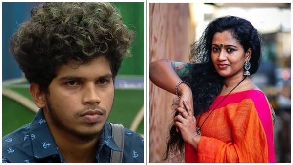 The boy, who looked like a son, seemed to be attracted to that powder keg;  Manju Peter in the news that came with Fukru
