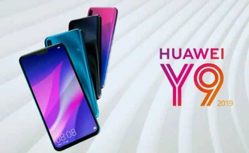 huawei y9 with four cameras launched