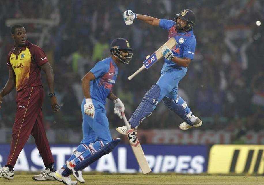 india won in 2nd twenty20 against windies