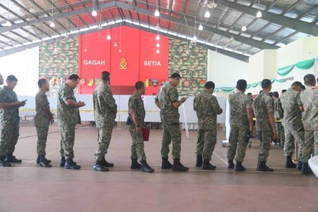 PRK Port Dickson: Seramai  7,191 pengundi awal mengundi hari ini