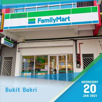 FamilyMart Sofuto Ice Cream Diskaun 25% Tambahan @ Bukit Bakri