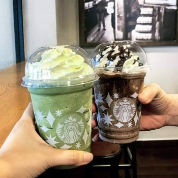 Starbucks 2 minuman buatan tangan bersaiz Grande dengan harga RM21 pada setiap hari Isnin