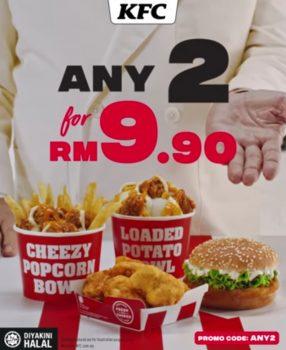 2 kegemaran KFC anda dengan harga hanya RM9.90