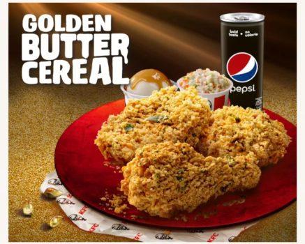 Bijirin Mentega Emas KFC