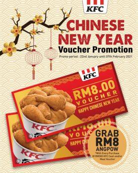 Beli Baucar KFC & terima Angpow RM8