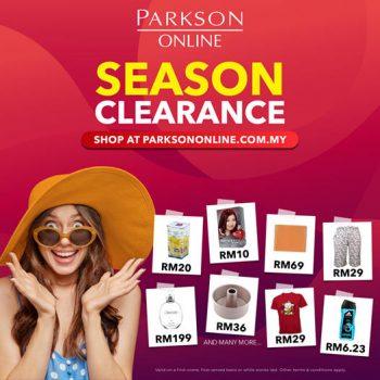 Jualan Pelepasan Musim Dalam Talian PARKSON + Kod Baucar Diskaun Percuma