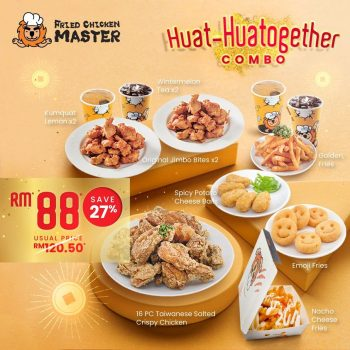 Master Fried Chicken HUAT-HUATOGETHER COMBO