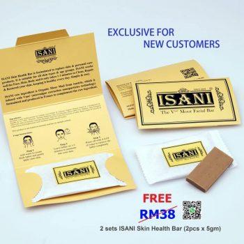 ISANI Skin Health Bar Free Sample Giveaway