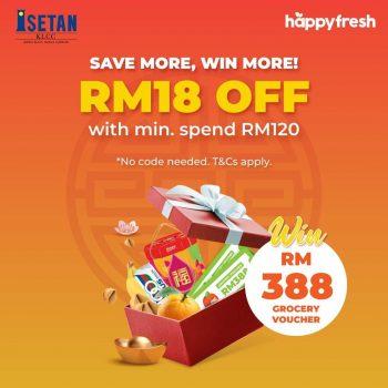 DISKAUN HappyFresh x Isetan Tambahan RM18