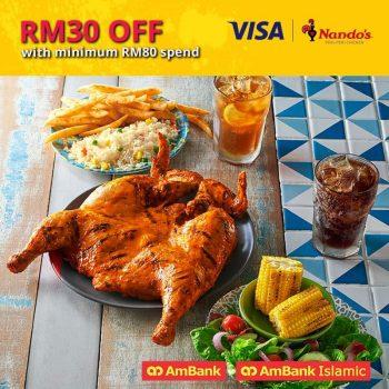Potongan Ayam PERI-PERi Nando's Extra RM30
