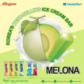 Aiskrim FamilyMart Binggrae Melona